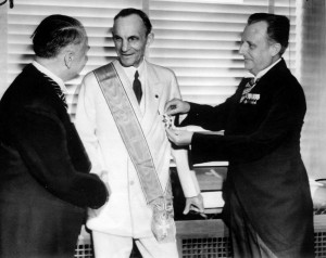 Ford gets Grand Cross of the German Eagle 1938