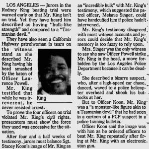 Rodney King trial